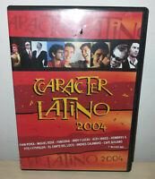 CARACTER LATINO 2004 - DVD