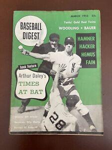 March 1953 Baseball Digest