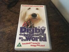 Digby the biggest dog in the world VHS VIDEO