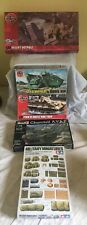 5 x military model kits unmade  airfix revell tamiya lot 11