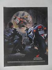 2001 Print Ad Honda Motorcycle ~ The CBR600F4i Racing Cycle