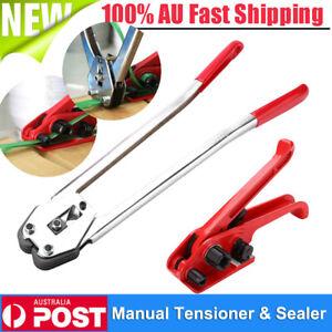 Manual PET/PP Strapping Packing Tool Sealer Tensioner Cutter Banding Machine