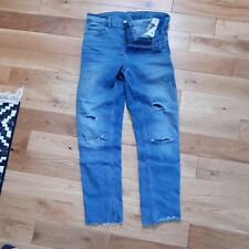 M&S ladies bootcut midrise Blue Jeans size 8/36, stretchy