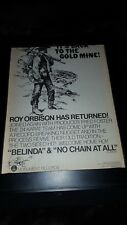 Roy Orbison Brenda No Chain At All Rare Original Promo Poster Ad Framed!