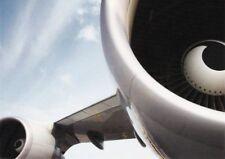 AK Lufthansa Flugzeug Jumbo-Jet Boeing 747-400 Triebwerk