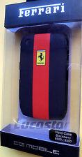 Carcasa Ferrari Blackberry 8520/9300 Negra y Roja