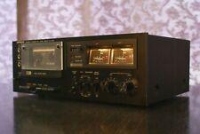 Hitachi D-220 Vintage Kassettendeck Tapedeck  -SERVICED- 1 Jahr Gewährleistung