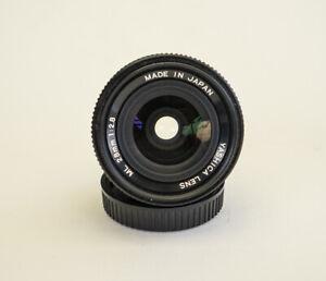 Contax/Yashica wide angle lens Yashica ML 28mm  f/2.8