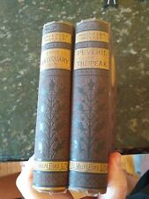 WAVERLEY NOVELS Sir Walter Scott 2 Vols.  DeWolfe Fiske boston Antiquary Peak