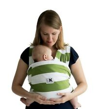 baby k'tan Baby Carrier Sling Wrap Cotton Olive Striped Xsmall