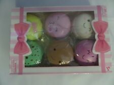 Silly Squishies Macaron Squishy 6PC Macaroon Box NEW Party RARE