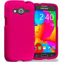 For Samsung Galaxy Avant G386T Hard Matte Case Cover Accessory Hot Pink