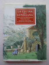LA CUCINA DELLA LUNIGIANA Italian Cookbook ANGELO PARACUCCHI Gian Carozzi 1980