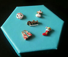 ORIGAMI OWL Christmas holiday CHARMS, Believe, Gift, Stocking, north pole & more