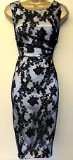 Phase Eight 8 Stunning Floral Applique Wedding Races Cruise Pencil Shift Dress