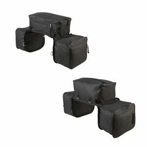Dreifache Wanderpacktasche Satteltasche