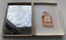 Chanel COCO MADEMOISELLE PARFUM 1,5 ML Scatola con Specchio in miniatura VIP Regalo