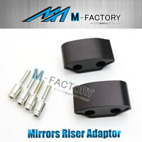 30mm Mirrors Extender Spacer Adaptor Fit Yamaha YZF R6 08 09 10 11 12 13 14 15