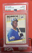 Baseball 1989 Fleer Ken Griffey Jr. #548 Rookie Card PSA 10 Graded