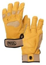 Petzl Cordex Plus Leather Belay Rope Gloves Beige / Tan M Medium
