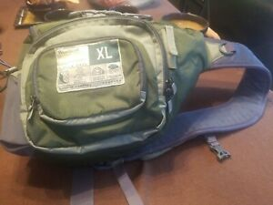 L.L. Bean Wearguard Waterproof XL Single Strap Backpack 64288