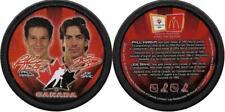 KARIYA SAKIC 2002 OLYMPIC TEAM CANADA ICE HOCKEY MCDONALDS SOUVENIR PUCK