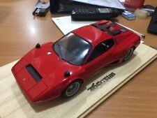 Bill Tong 1/18 Ferrari 365 GT4/BB race press, red - new . - no bbr,cmr, cmc tec