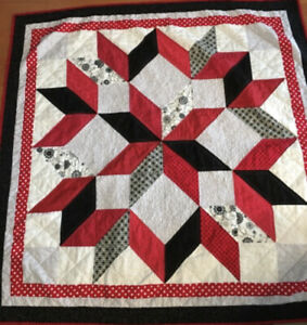 Handmade Lap Quilt (Made in USA Home)