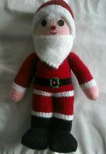 Hand Knitted Santa New