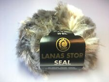 1 Knäuel Lanas Stop SEAL Farbe: 107 Luxuswolle 50 Gr. Garn Wolle (99,80€/kg)