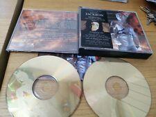 Michael Jackson history book 1 gold discs slight case crack
