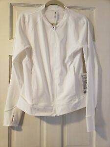 NWT Lululemon Nulux UVP Run Jacket White 12