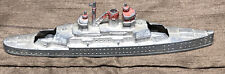 Vintage 6� Long Tootsietoy 1034 Battleships Navy Ships 1940s ? Made In Usa