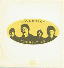 THE BEATLES - Love Songs - Rare 1977 Bulgarian Double Vinyl LP -Gatefold Sleeve