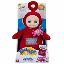 Teletubbies Teletubbie Lullaby Po Soft Toy Plush Stuffed Doll Light Up Singing