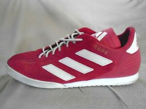 ADIDAS COPA SUPER SUEDE TRAINERS FOOTBALL ASTRO TURF RED SIZE 11 UK 46 EURO  E4