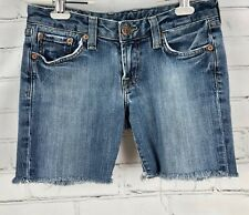 """Lucky Brand Cut Off Shorts Lola Jeans - Women's Size 2 / 26 - 5.5"""" Inseam"""