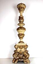 Großer Antiker Barock Standleuchter Kandelaber