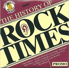 The History Of Rock Times 1945-52 Promo CD Various Audiophile Super RAR