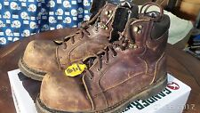 Gander Mountain Rugged Force Men's Work Boots Composite toe EH Safety Size 12