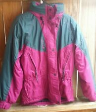 Vintage Couloir multicolor hooded ski jacket, size 10 EUC!
