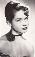 rare vintage foreign post card of BRIGITTE BARDOT early 1950`s