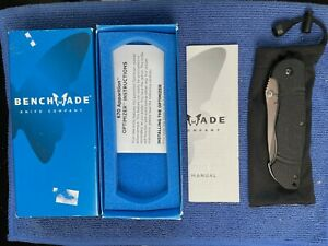 RARE Benchmade 672 Osborne Apparition Prototype Knife 2006 Discontinued NEW