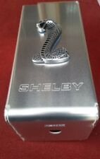 SHELBY Logo W/ Cobra Aluminum Fuse Box Cover Fits 2007-2009 Ford Mustang GT500