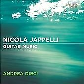 Jappelli: Guitar Music, Andrea Dieci CD | 5029365943529 | New
