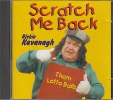 Richie Kavanagh Scratch Me Back CD Irish Comedy Songs Novelty FASTPOST