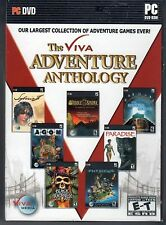 SYBERIA 2 + PARADISE + OMEGA STONE PC Game VIVA ADVENTURE ANTHOLOGY 7 PACK NEW