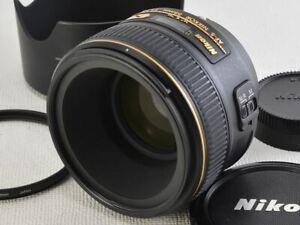 Nikon AF-S NIKKOR 58mm F1.4 G  [NEAR N] from Japan (19994)