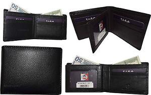 Lot of 4. Fiza NY. Men's wallet. Leather Bifold wallet. 2 billfold Men's wallet.