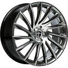 "4x Tomason TN16 8x18"" 5x112 ET35 ML72,6 dark hyperblack polished Audi Mercedes"